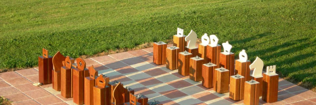 Chess game at the Bastide des Tremieres
